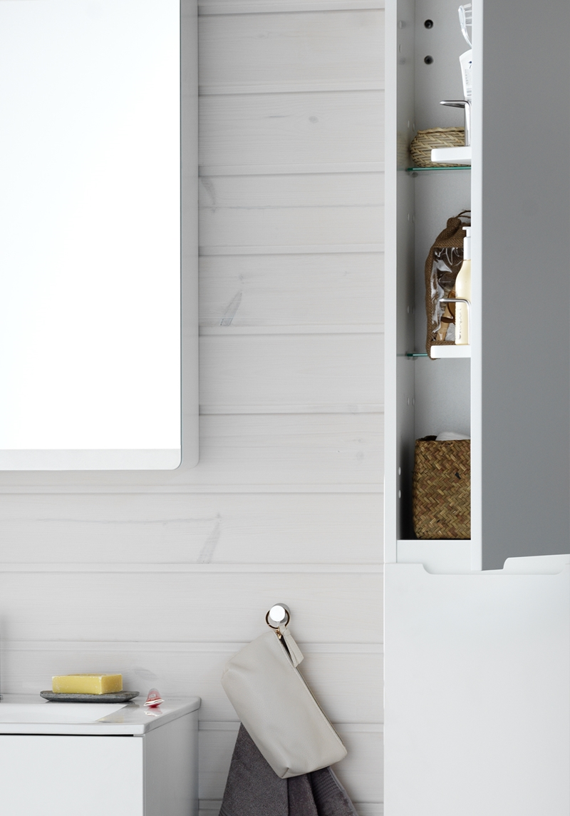 Badrum högskåp svart ~ xellen.com