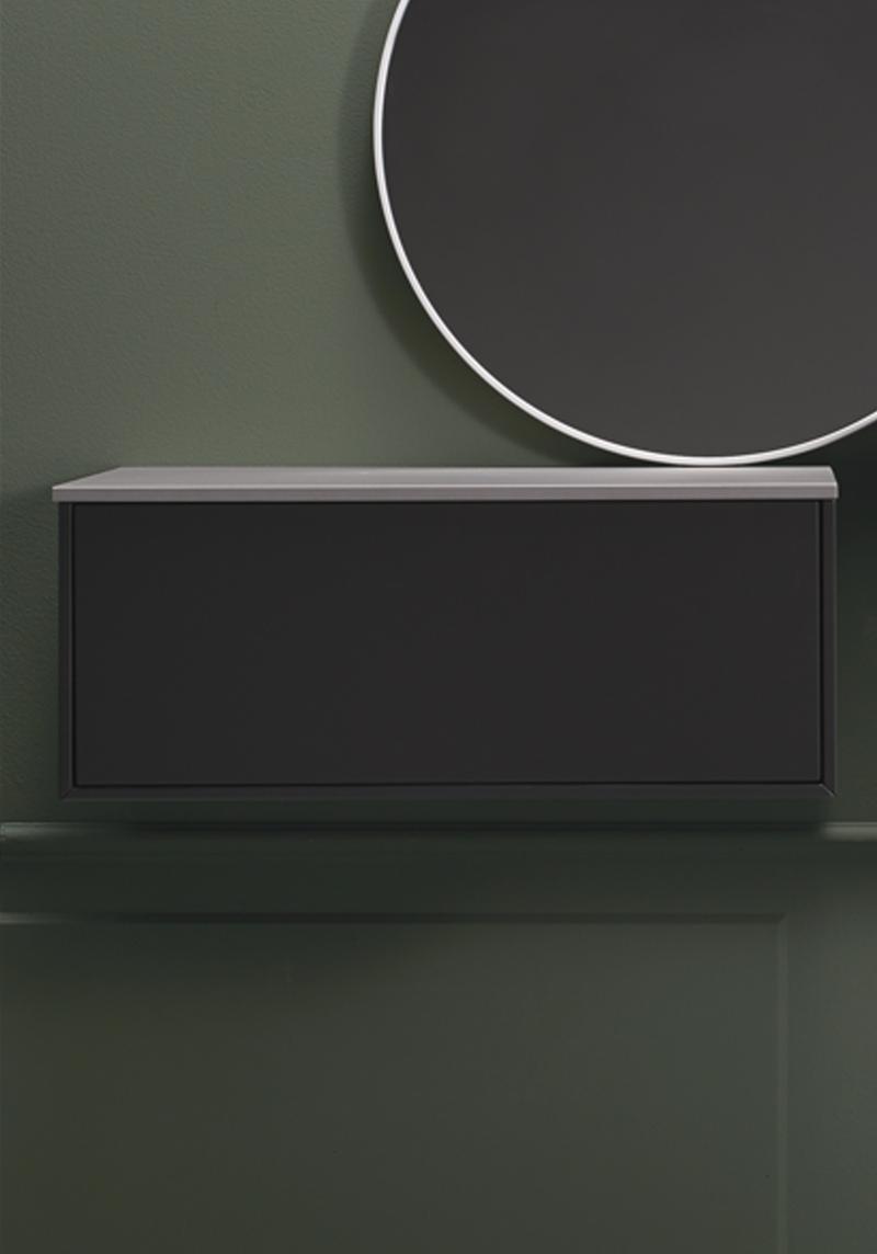 Grå badrumsskåp ~ Xellen.com