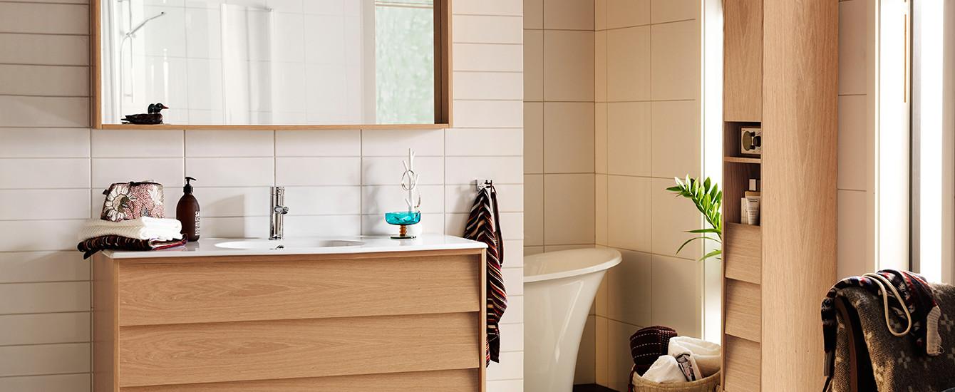 Original badrumsmöbel iäkta ek Hafa badrum