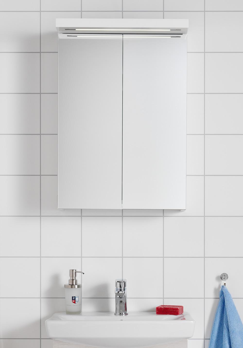 Hafa badrumsskåp belysning u2013 Spegel med belysning
