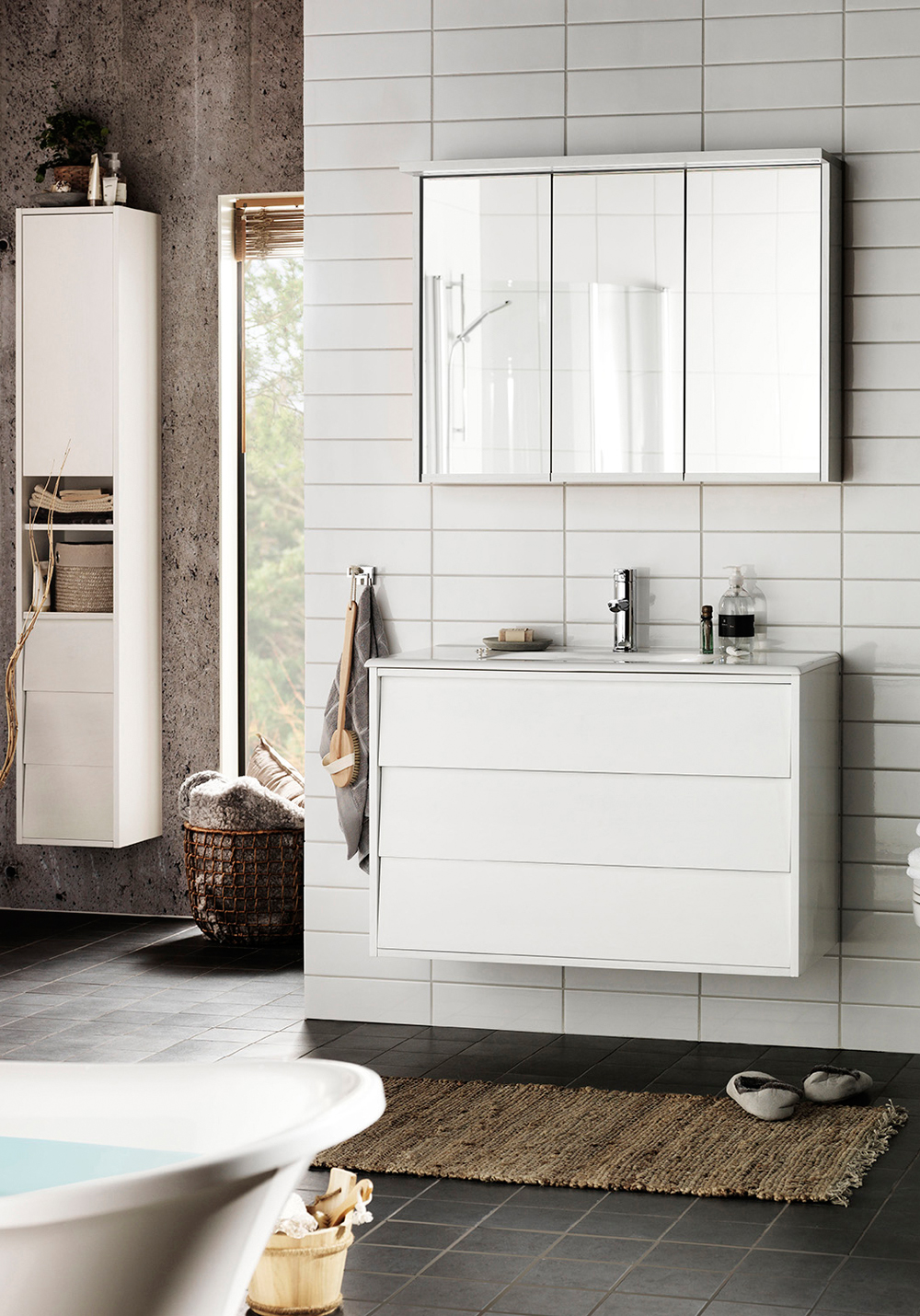 Spegelskåp badrum med belysning ~ xellen.com