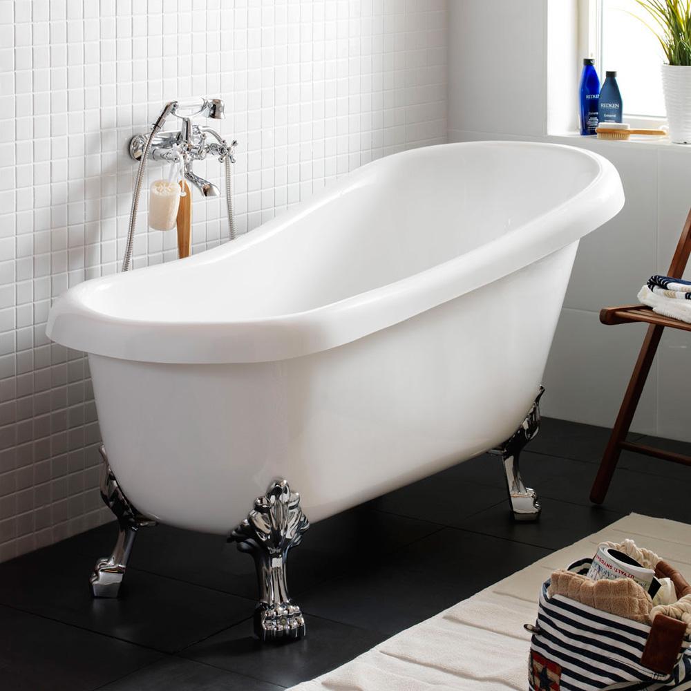 Badkar badkar mått : Hafa Classic badkar vit - Hafa badrum