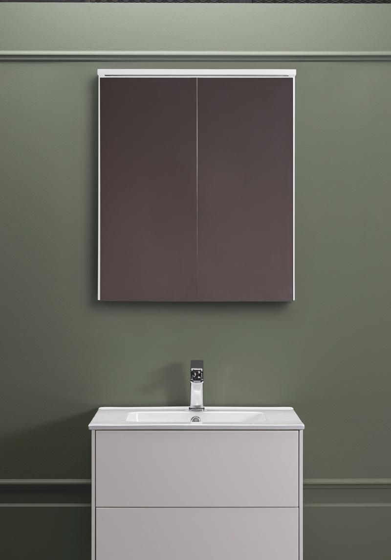 EDGE SPEGELSKåP 600 VIT Hafa badrum