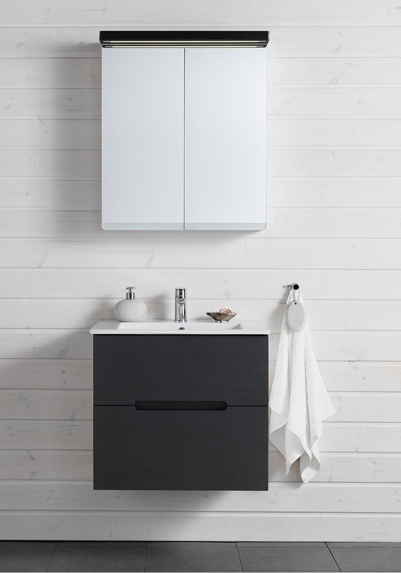 Hafa Sun Komplett badrumsmöbel med spegelskåp Hafa badrum