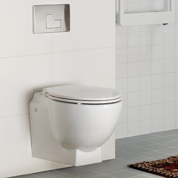 Byt toalett Sanitetsporslin med EasyClean Hafa badrum
