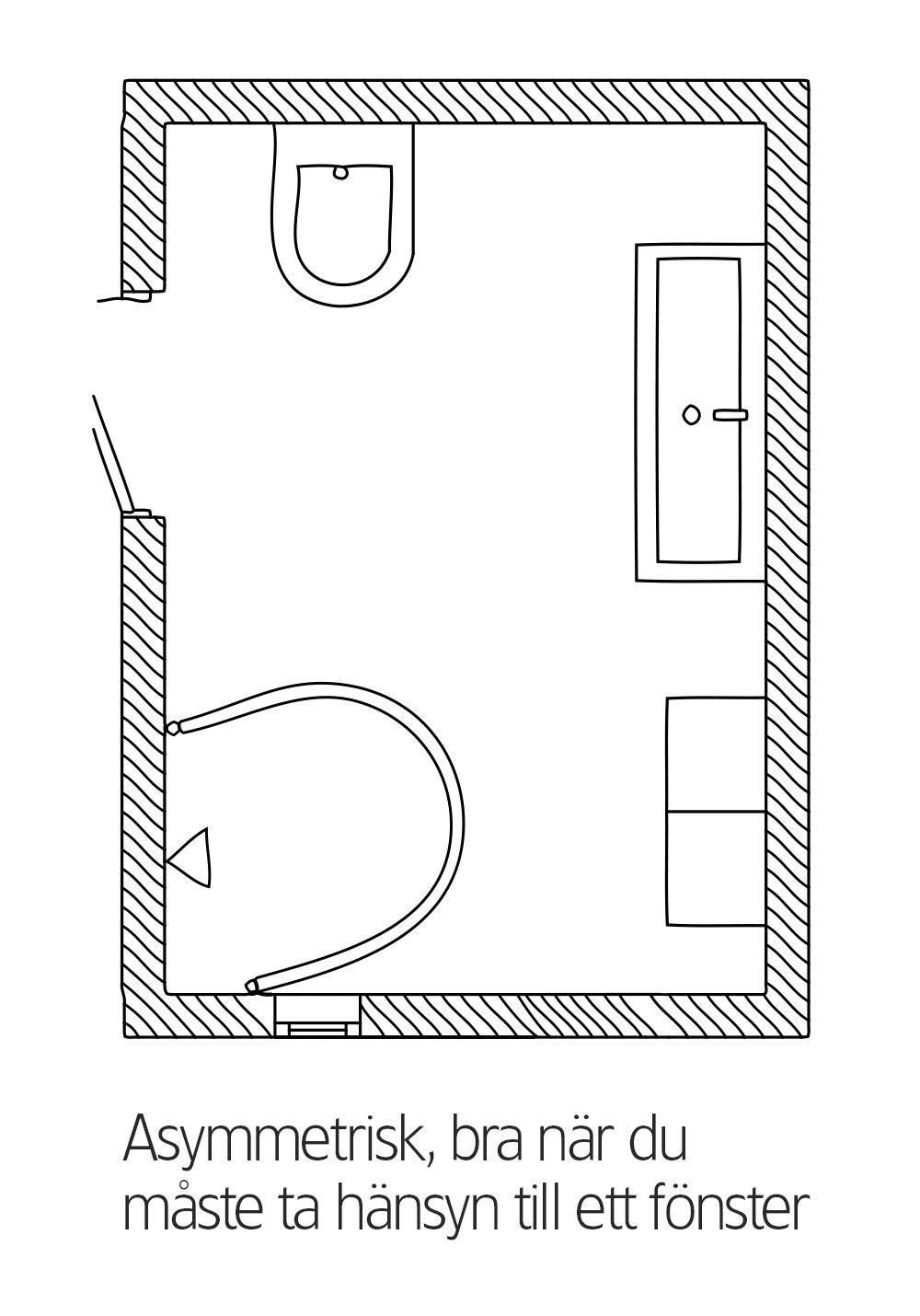 IGLOO WALL 95x80 - Hafa badrum