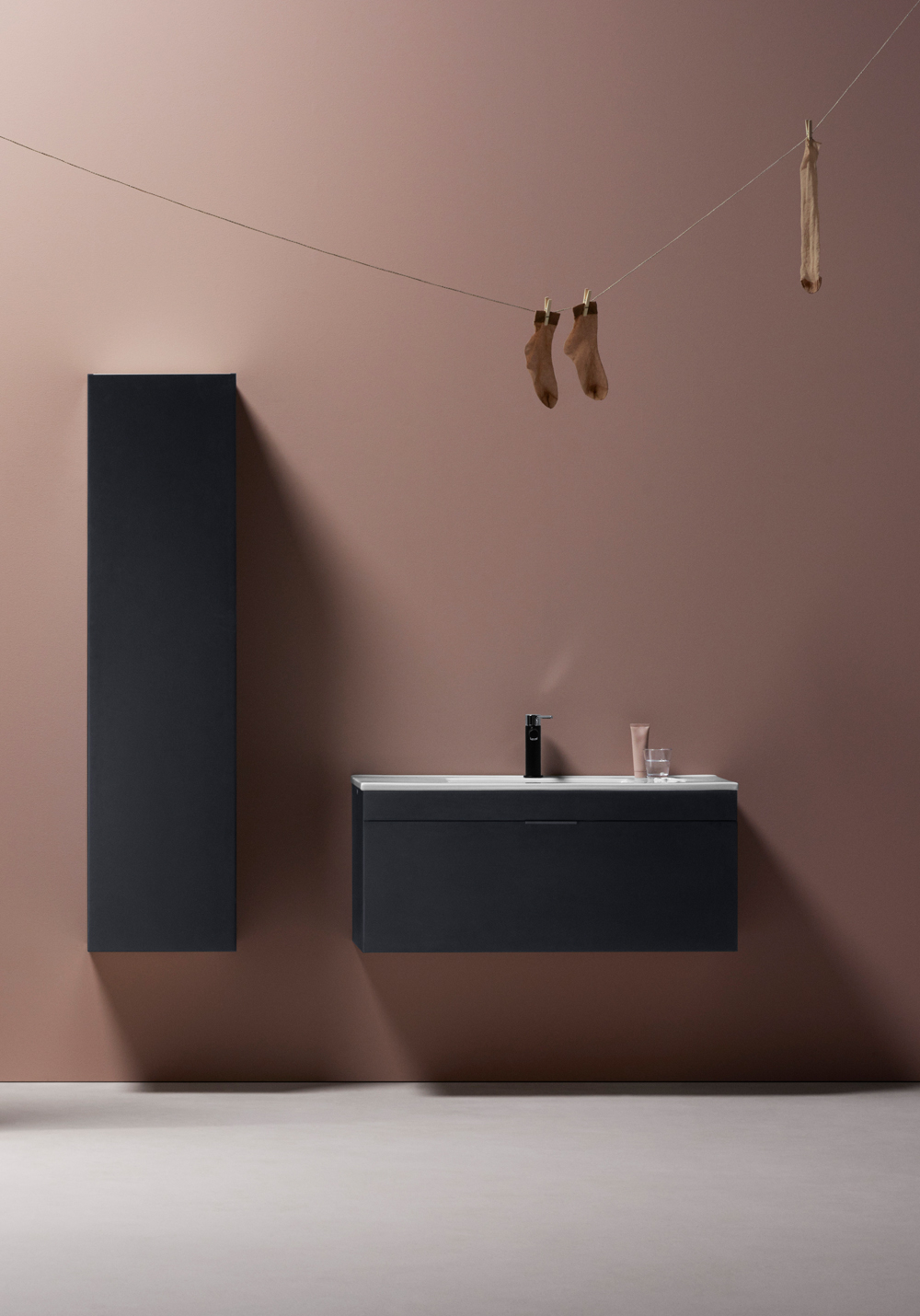 GO HÖGSKÅP VIT - Hafa badrum : högskåp badrum : Badrum